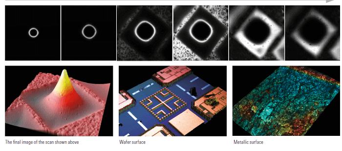Процесс получения конфокального 3-х мерного изображения Leica DCM8