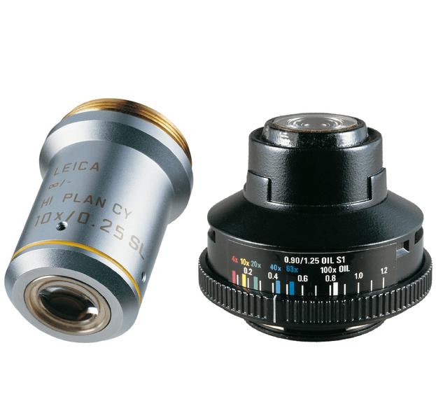Объектив и конденсор
