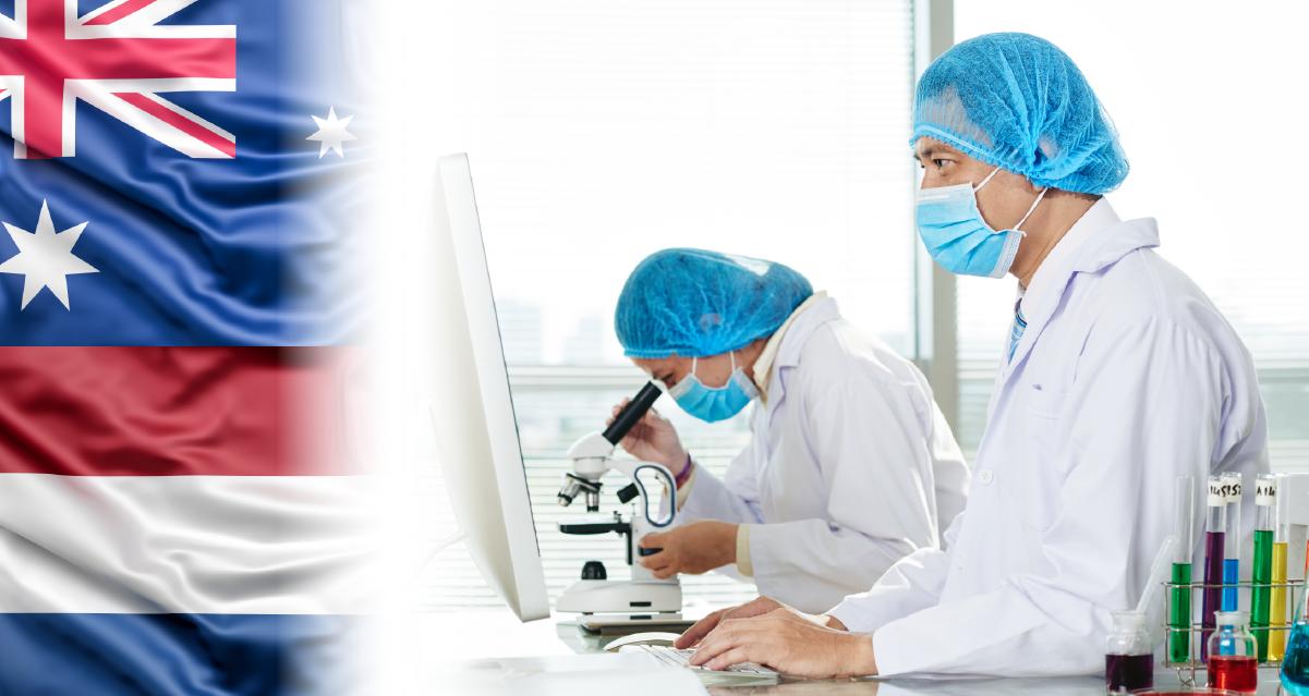Разработка вакцины от COVID-19 в Голландии и Австралии
